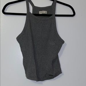 Gray halter from Abercrombie and Fitch